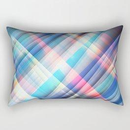 The Curtain of Space Rectangular Pillow