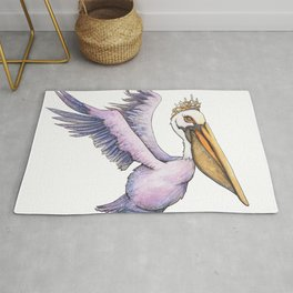 Pelican Princess Rug