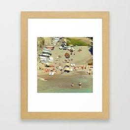 Furore bay, Italy Framed Art Print