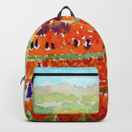 California Poppies Backpack