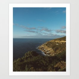 Oceans and roads that will lead to you Art Print