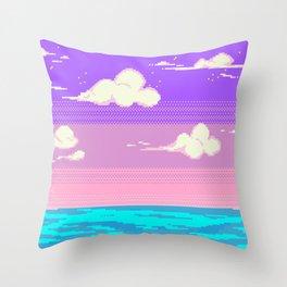 S k y Throw Pillow