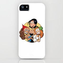 Les Nombrils - Pastille de Karine, Jenny et Vicky iPhone Case