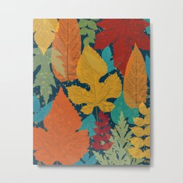 Autumn leaves Metal Print