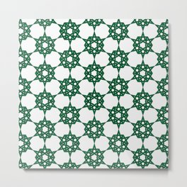 Traditional Moroccan Pattern Design A18 Metal Print