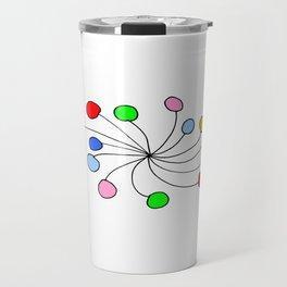 abstraction and game 3 – abstraction,abstract,minimalism Travel Mug