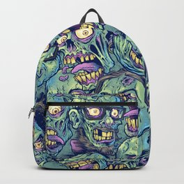 Zombie Repeatable Pattern Backpack
