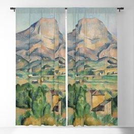 Paul Cezanne Mont Sainte-Victoire (La Montagne Sainte-Victoire) 1892-1895 Blackout Curtain