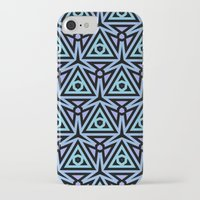 technology iPhone & iPod Cases featuring Alien Technology by Lyle Hatch