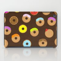 donuts iPad Cases featuring Donuts by Reg Silva / Wedgienet.net