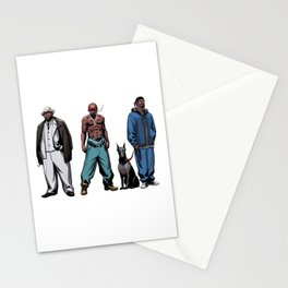 Legendary Rappers Stationery Cards