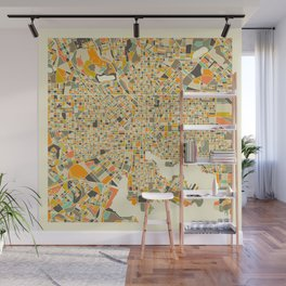 BALTIMORE MAP Wall Mural