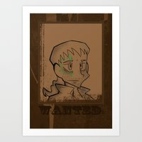 danny haas Art Prints featuring Danny by LittlestLarper