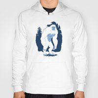 yeti Hoodies featuring Yeti by Rachel Young