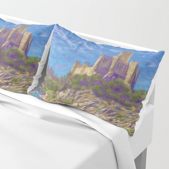 Almourol, Knights Templar fort Pillow Sham
