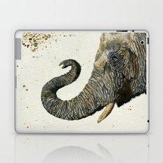 Elephant Cyril(Color Shower Background) Laptop & iPad Skin