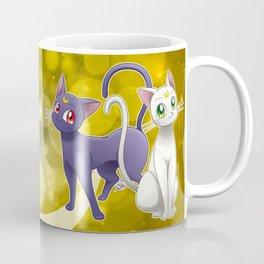 Luna & Artemis (Sailor Moon Crystal edit.) Coffee Mug