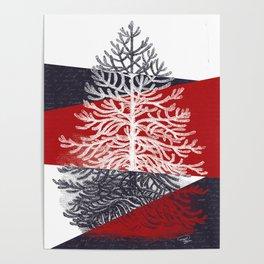 Tree Silhouette II Poster