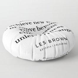 31  |  Les Brown  Quotes | 190824 Floor Pillow