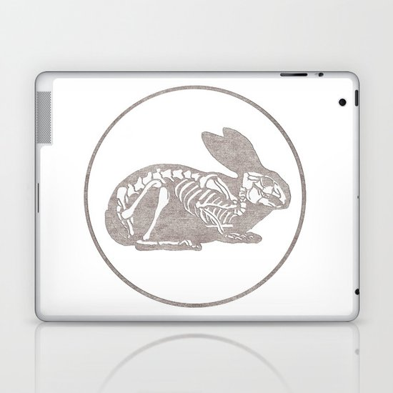 In which a rabbits anatomy is observable  Laptop & iPad Skin