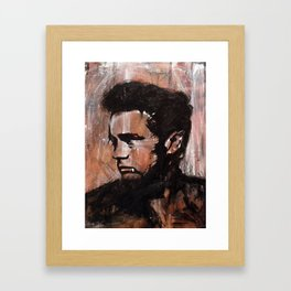Rebellious Maximus Framed Art Print