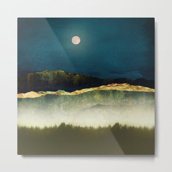 Midnight Moonlight Metal Print