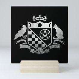 Cabot Crest Simulated Silver Mini Art Print