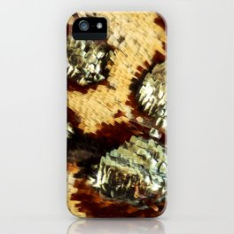 BUTTERFLY MAGNIFIED - ANTEROS FOMOSUS iPhone Case