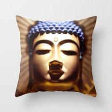 Buda Amida Throw Pillow