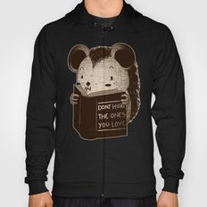 Hedgehog Book Don't Hurt The Ones You Love Hoody