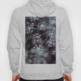 The Stars for You. Botanical Macro Abstract Hoody