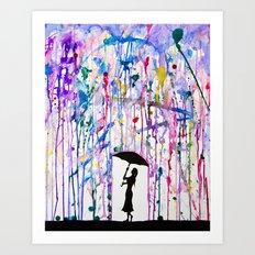 Deluge Art Print