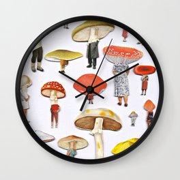Mushy People Wall Clock