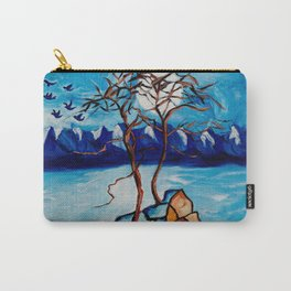 Moonlight Cypress Carry-All Pouch