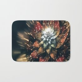 3D Color Flower V3 Bath Mat
