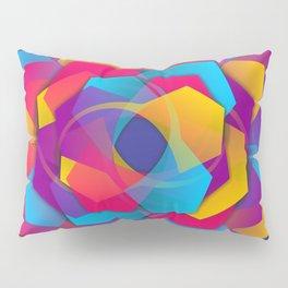 hexagon abstract Pillow Sham