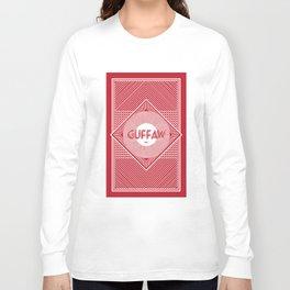 Back of Card Long Sleeve T-shirt