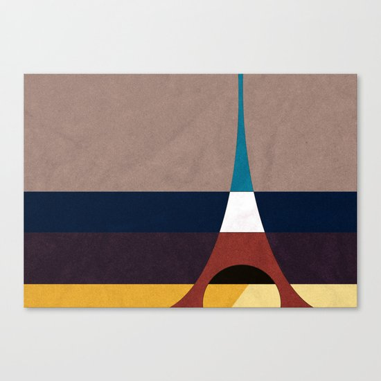 Paris, Eiffel Tower Canvas Print