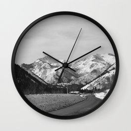 Big Cottonwood Canyon Wall Clock