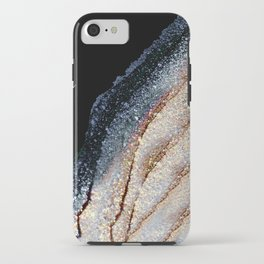 FLAWLESS GREY & GOLD iPhone Case