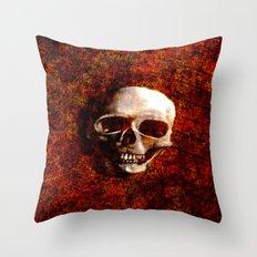 Rust to Rust Throw Pillow