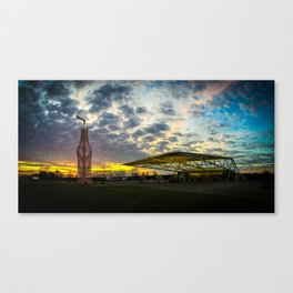 Pops 66-Route 66-Arcadia, OK-II Canvas Print