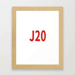 J20 Framed Art Print