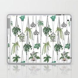 hanging pots pattern Laptop & iPad Skin