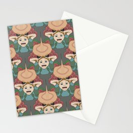 Have You Seen the Size of His Crabs? tessellation Stationery Cards