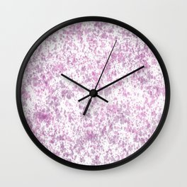 Abstract Wallpaper Wall Clock