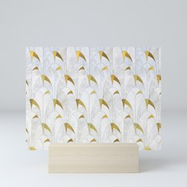 Gold Marble Deco Arch Mini Art Print