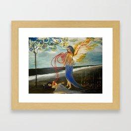 NODNABA Framed Art Print
