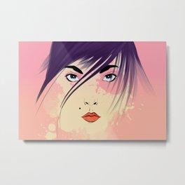 Nikki 2.5 Metal Print