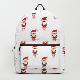 Not So Cool Santa Backpack